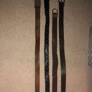 8 belts